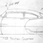 1953 Pontiac Chieftain project layout - Beck Speed & Design
