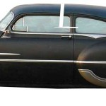 Laying out a photo shop chop on a 1953 Pontiac Chieftain