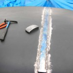 Hammer Welding Roof Seam