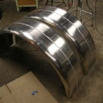 Dayton Hot Rod Fabricator - Custom Aluminum Fender Fabrication