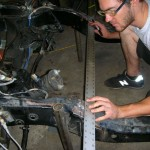 "Building a Custom ""Z'd"" Frame for a 1953 Pontiac Chieftain with a Camaro front clip and suspension"