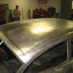 Pancaking the Roof on a 1957 Chevy