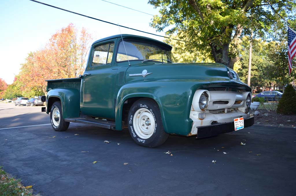 1956 Ford F100 Farm Truck with Mild Restoration Resto-Mod